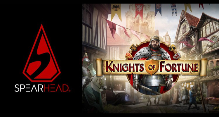 Spearhead Studios adds Knights of Fortune to its online slot portfolio