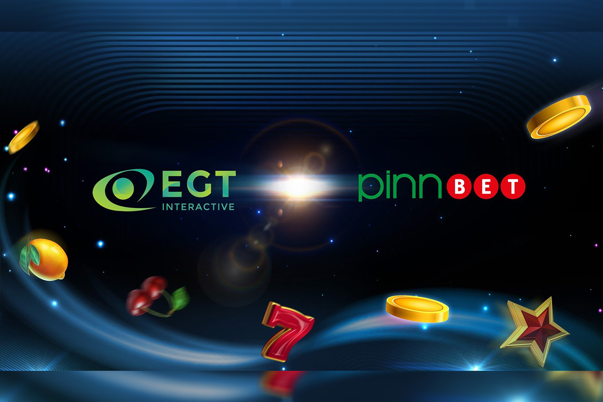 EGT Interactive Partners with Pinnbet