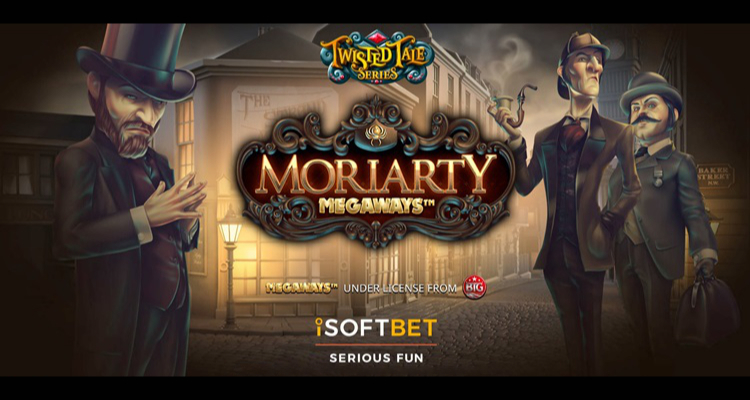 iSoftBet launches highly-anticipated flagship 2021 video slot, Moriarty Megaways