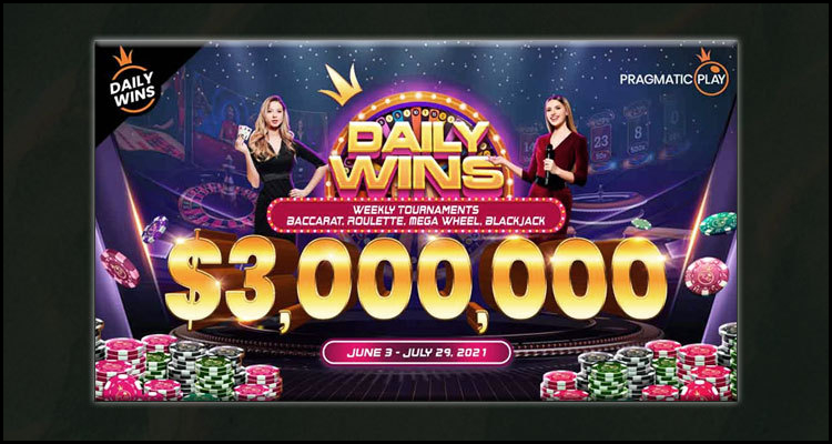 Pragmatic Play Limited launching Daily Wins prize pool promotion