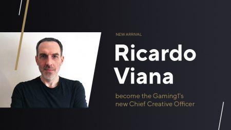 GAMING1 Hires Ricardo Viana as Chief Creative Officer