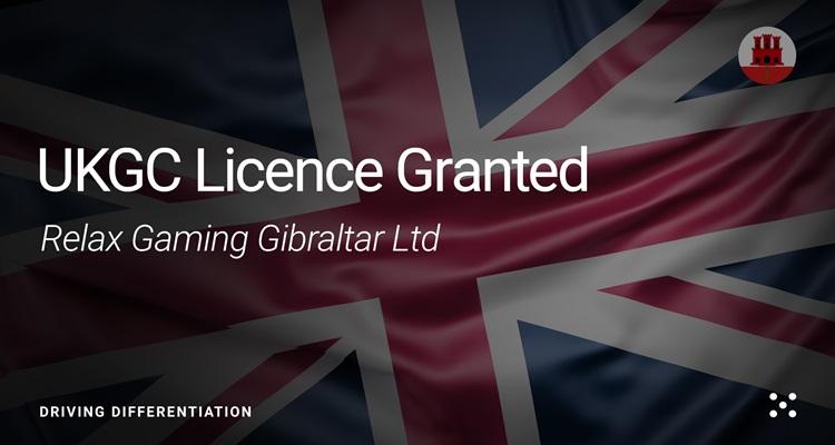"Relax Gaming Gibraltar Ltd coveted UKGC licence marks ""major commercial highlight"" for provider"