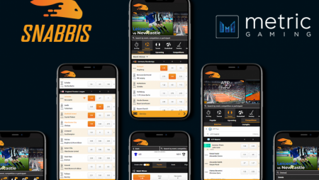 Snabbis.com Launches Complete Sportsbook through Metric Gaming's Sportsbook Platform and Technology Services