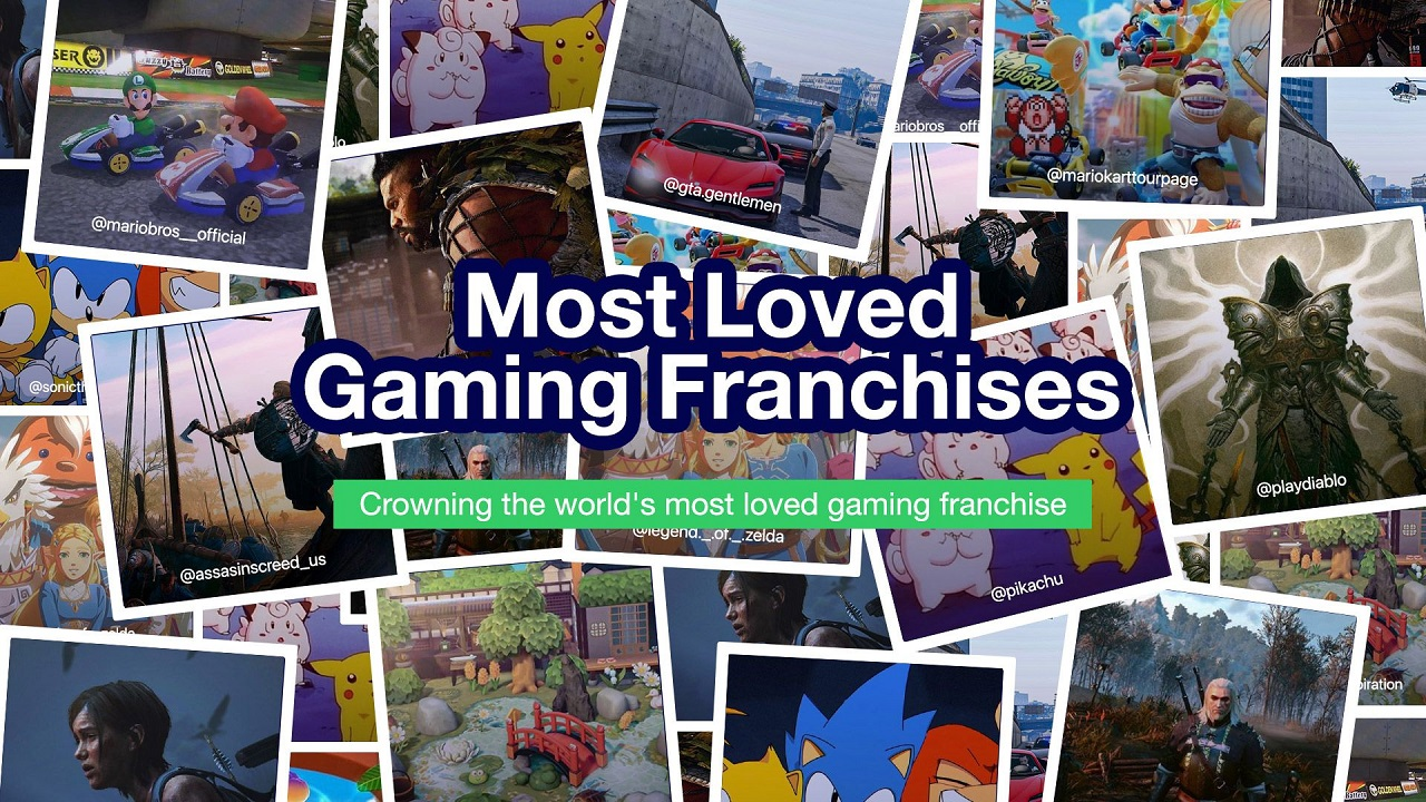 The world's favourite gaming franchises – Animal Crossing is officially UK's #1