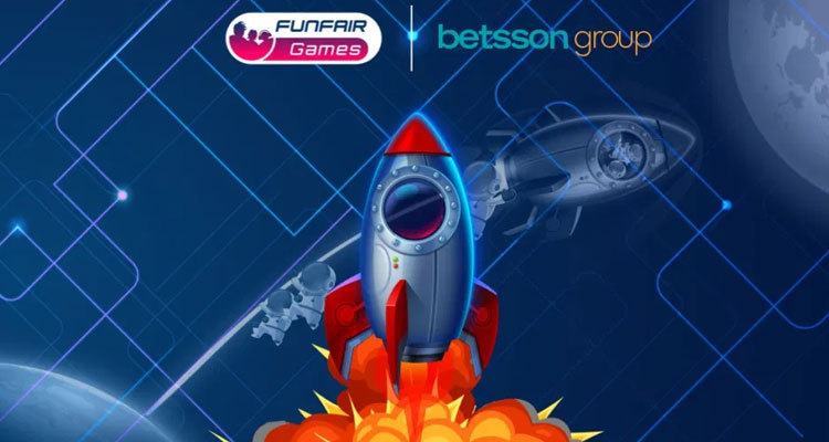 FunFair Games new real-money multiplayer innovation, AstroBoomers: To the Moon!, launches exclusively with Betsson Group before May 11 network-wide debut