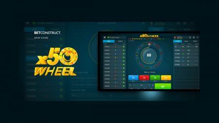 "BetConstruct Launches ""x50Wheel"""