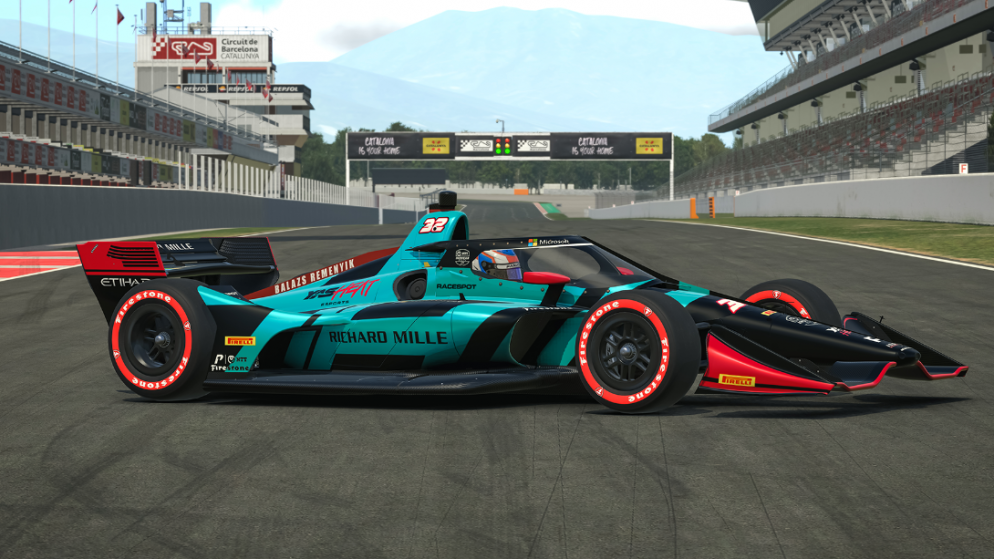 iRacing Indycar series beckons for YAS HEAT ESPORTS