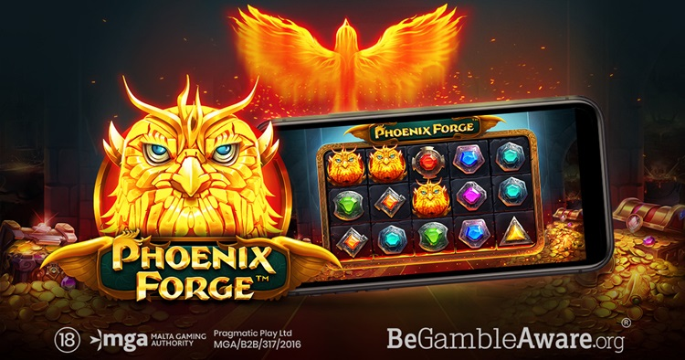 Pragmatic Play's new hit video slot Phoenix Forge features tumbling wins and increasing multipliers