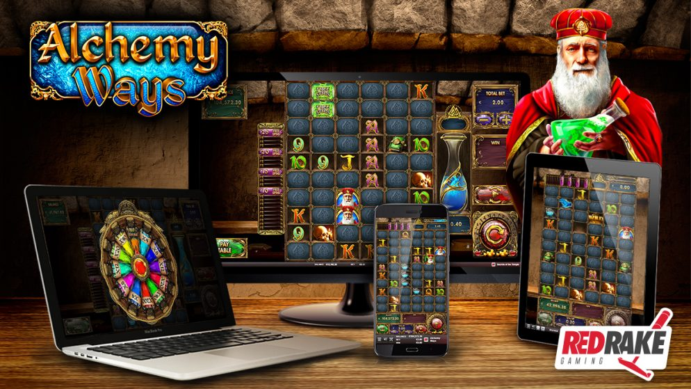 Introducing Alchemy Ways, the new slot game from Red Rake Gaming with 1 million ways to win