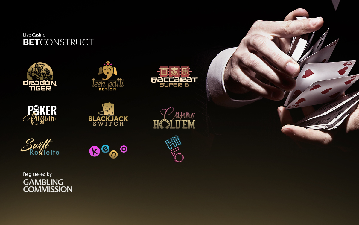BetConstruct Bolsters its position with the Launch of 9 New Live Casino Games