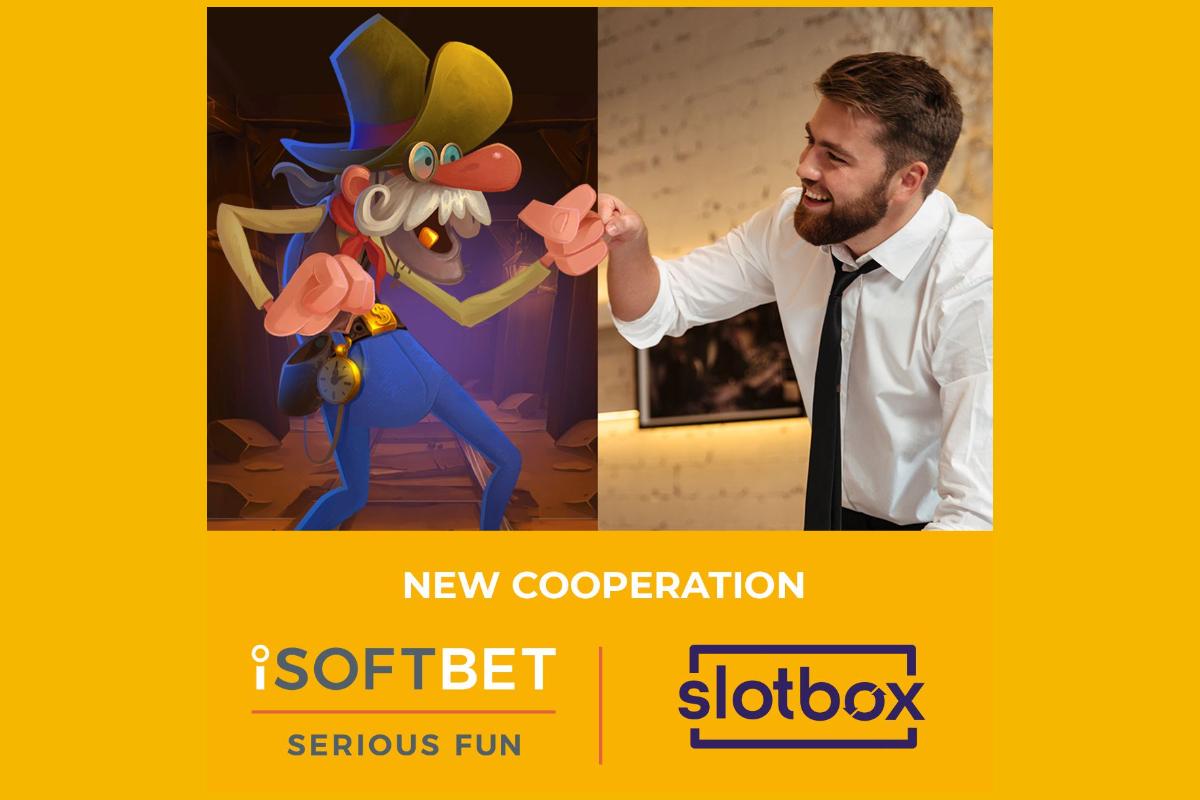 iSoftBet agrees strategic partnership with Slotbox