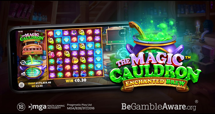 Pragmatic Play adds new feature-rich title, The Magic Cauldron – Enchanted Brew, to top slot portfolio