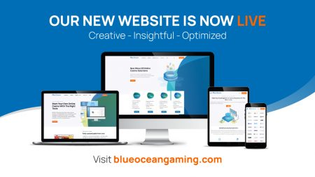 BlueOcean Gaming, a leading iGaming software provider, launches a newly redesigned website!