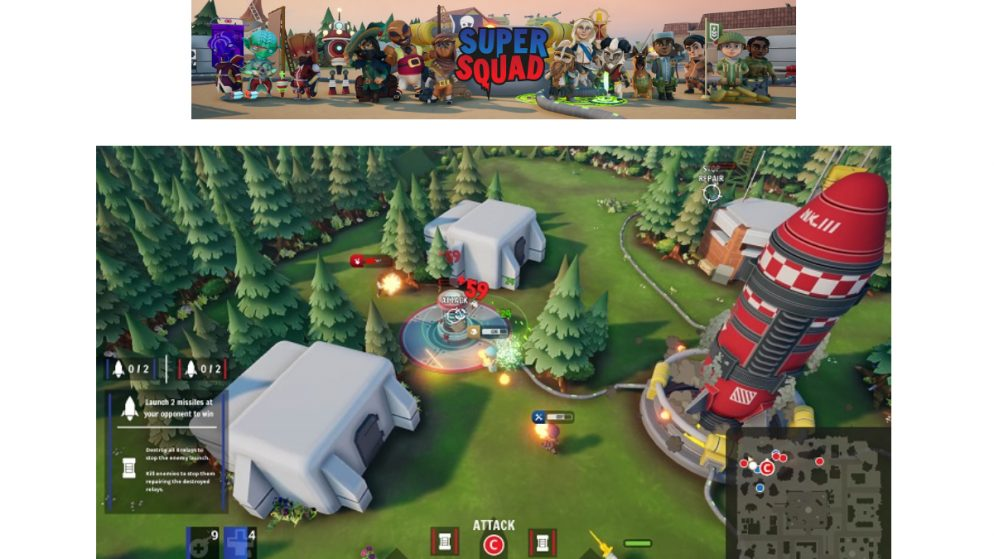 Bad Fox Studios' MOSH Super Squad Hits PC Early Access on the 25th of June across Steam and the Epic Games Store