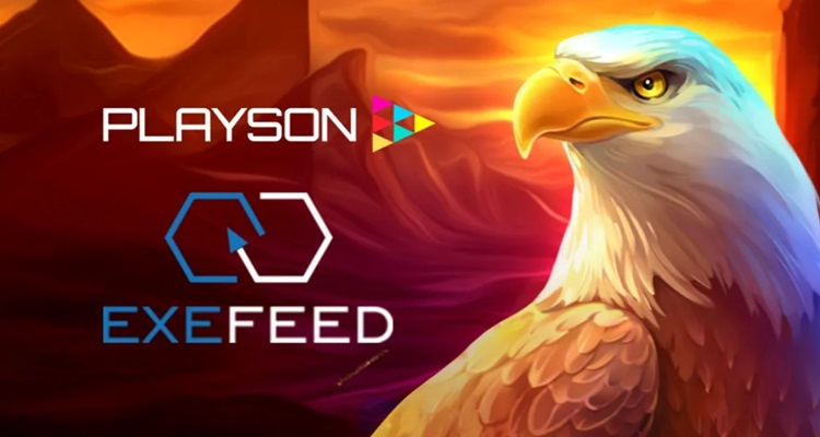 Playson online slots launch with ExeFeed operator brands; maintains momentum in European market
