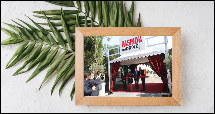 Groupe Partouche opens the world's first drive-through casino service