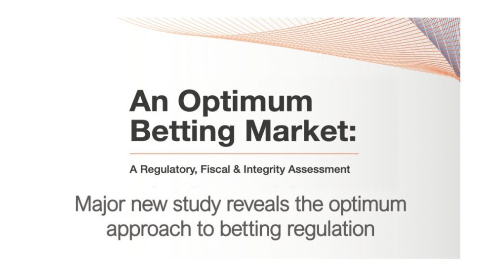 Major new study reveals the optimum approach to betting regulation