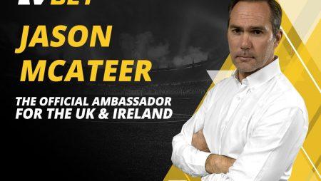 Jason McAteer Signs with LV BET as UK & Ireland Brand Ambassador