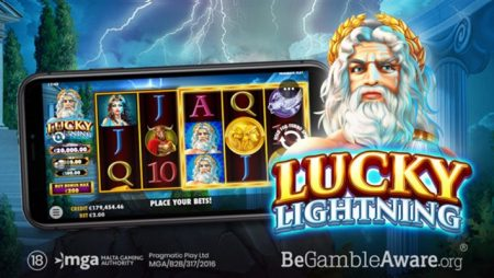 Pragmatic Play releases online partner Wild Streak Gaming's latest slot title, Lucky Lightning