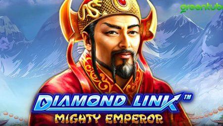 Greentube welcomes Diamond Link–Mighty Emperor to its online slot portfolio