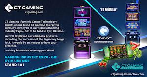 CT Gaming presents at Ukrainian expo