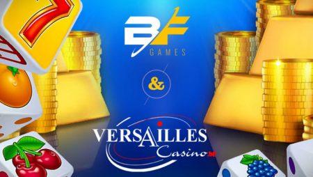 BF Games widens audience in Belgium via Versailles Casino content supply deal