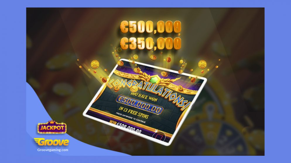 GrooveGaming operator BooCasino.com has player winning €850,000 in just one day!