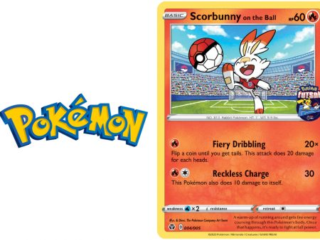 New Pokémon England Futsal trading card available at GAME from tomorrow