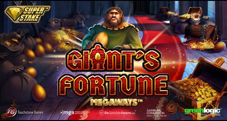 Stakelogic and Greenlogic partner Touchstone Games introduce new Giant's Fortune Megaways online slot
