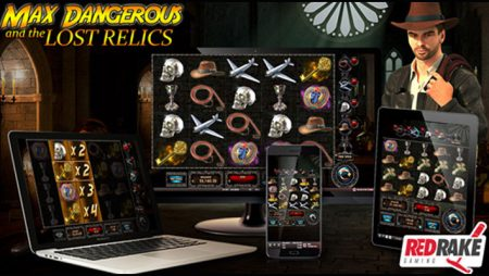 Red Rake Gaming debuts new Max Dangerous and the Lost Relics online video slot