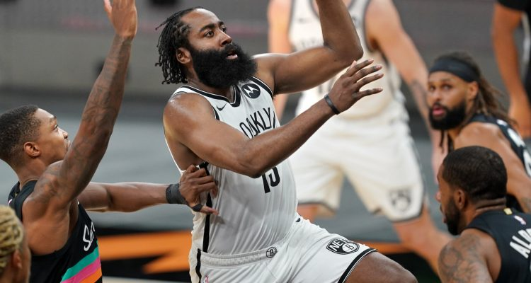 Brooklyn Nets' Superstar Guard James Harden Leaves Game 1 Early with Injury