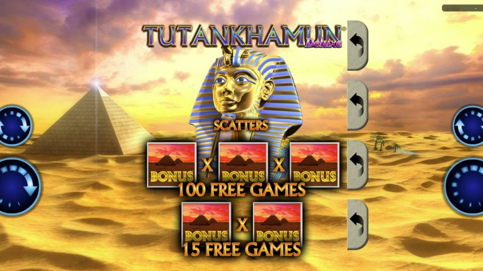Realistic Games unearths riches with Tutankhamun Deluxe® Pull Tab