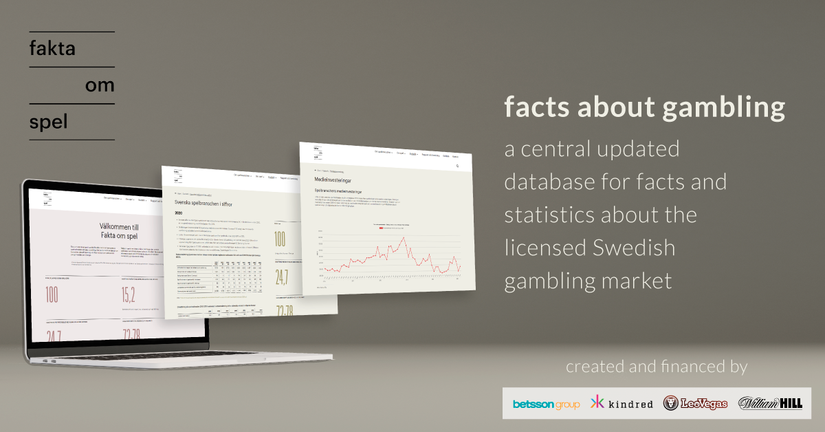 Online gambling operators join forces to increase knowledge about the gambling market