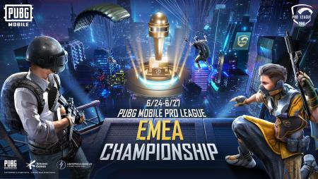 PUBG MOBILE PRO LEAGUE EMEA CHAMPIONSHIP STARTS JUNE 24TH
