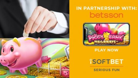 iSoftBet and Betsson partner for custom game debut: Piggy Bank Megaways