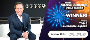 Johnny Ortiz features in casino honours