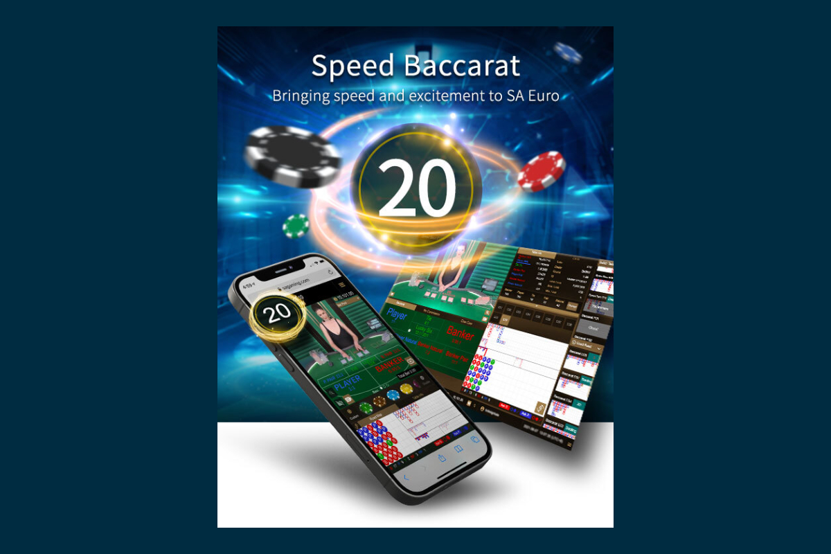 Speed Baccarat brings speed and excitement to SA Euro