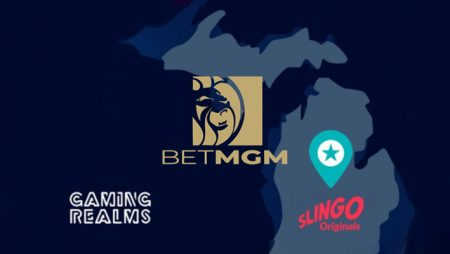 Gaming Realms signs direct integration agreement with BetMGM for Michigan Slingo Originals launch; releases new game Slingo-ne Fishin'