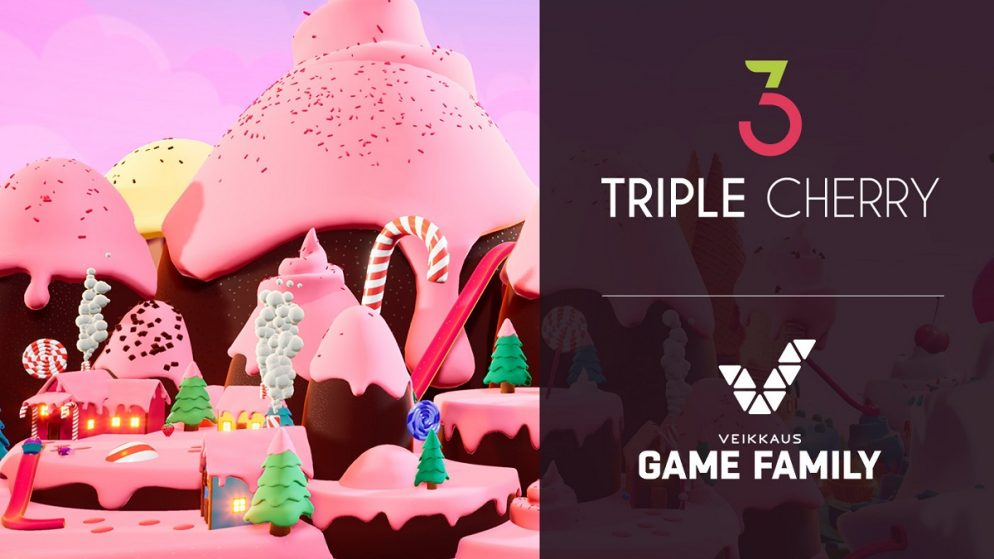 Triple Cherry collaboration with Veikkaus!