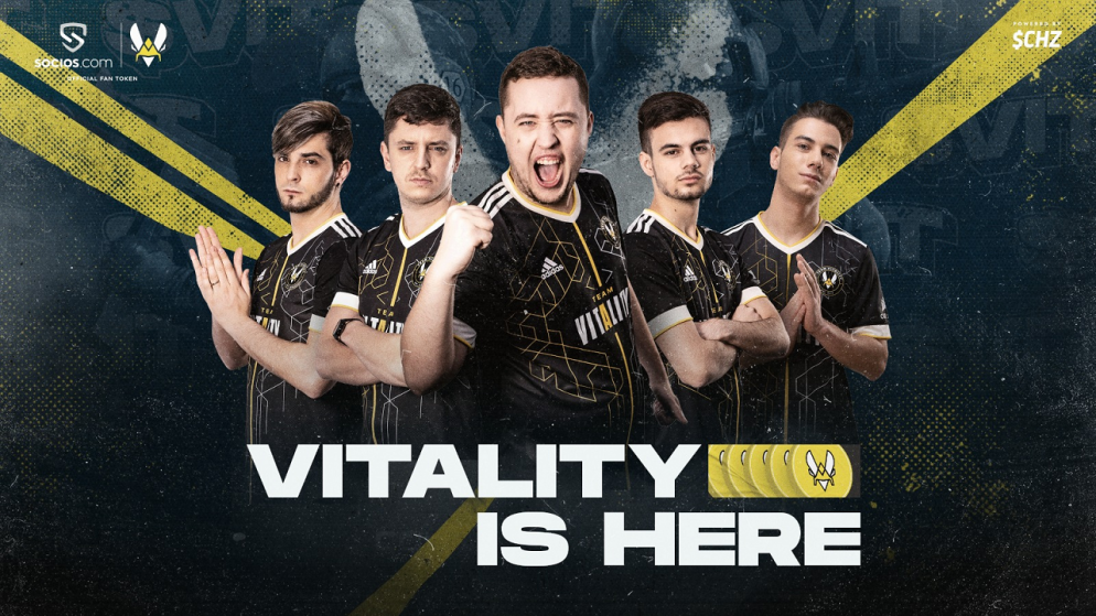 French Esports Giants Team Vitality Set For Global Expansion With Socios.Com Fan Token Launch On July 1st