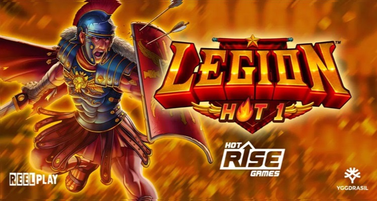 ReelPlay development partner Hot Rise Games' debut slot, Legion Hot 1, unleashed via YG Masters partnership program