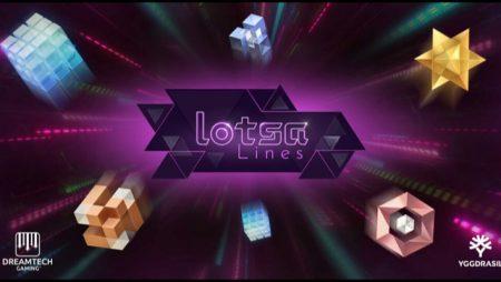 Dreamtech Gaming reveals new futuristic online slot, Lotsa Lines; latest title as YG Masters programs partner