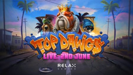 Relax Gaming challenges players to make it rain in latest video slot: Top Dawg$