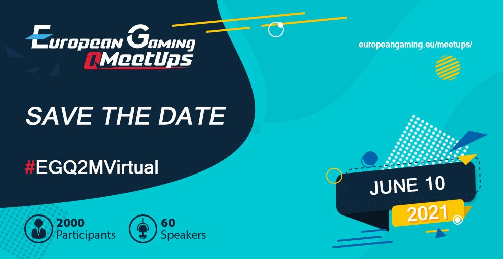 European Gaming Q2 Meetup happening next week (10 June), here are the most important details to remember