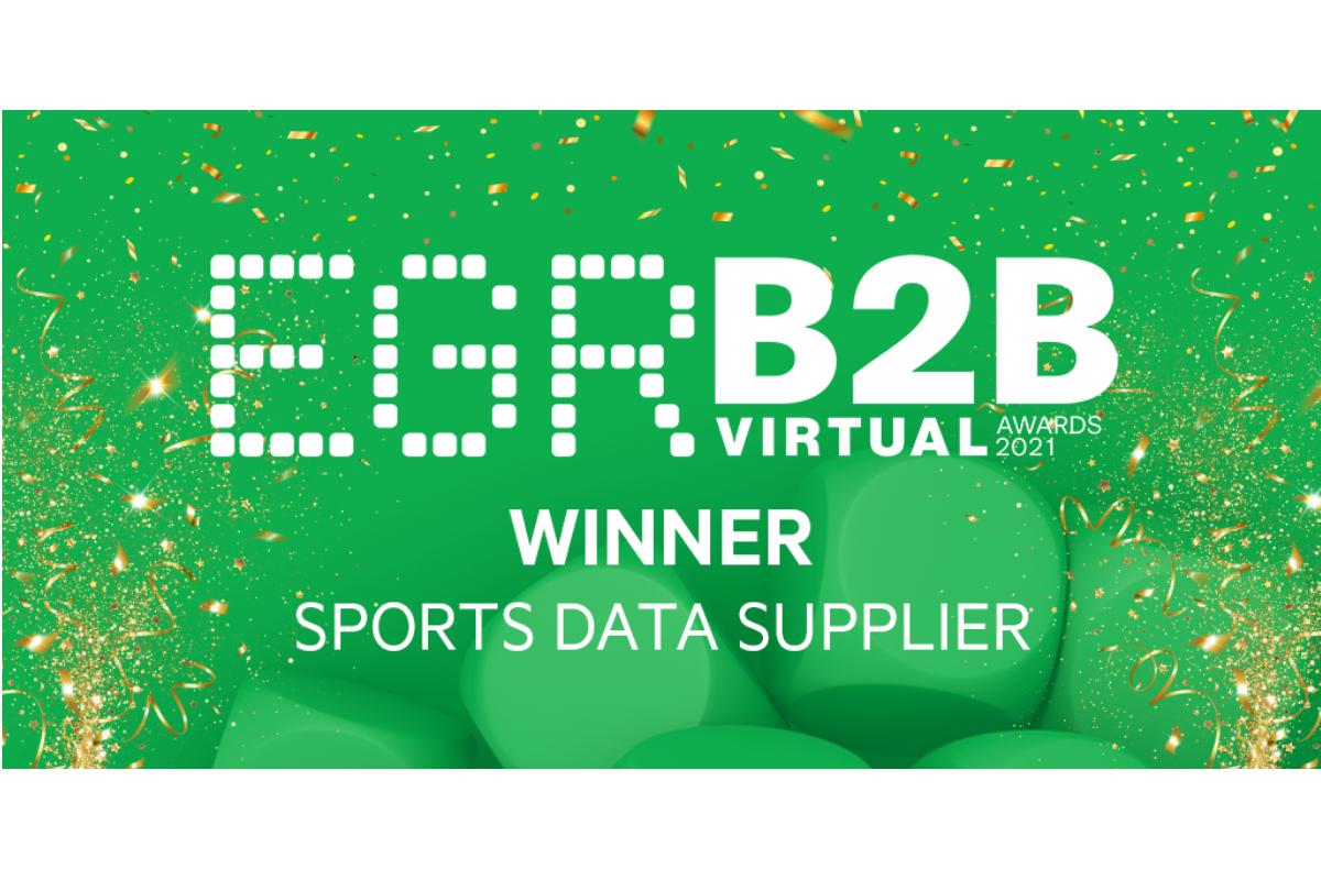 EveryMatrix named Sports Data Supplier of the Year at EGR B2B Awards 2021