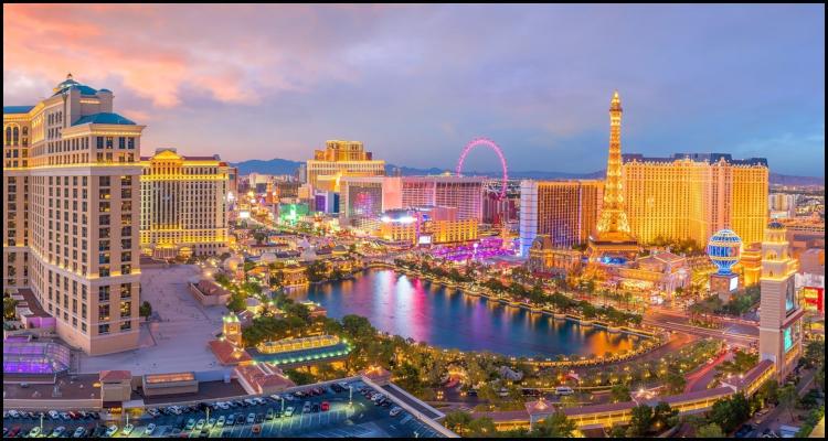Las Vegas posts encouraging May visitation figures