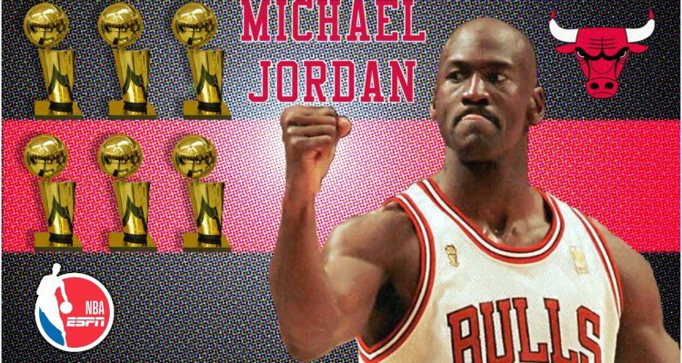 Michael Jordan: The Man who Dominated the NBA Finals in the 1990's