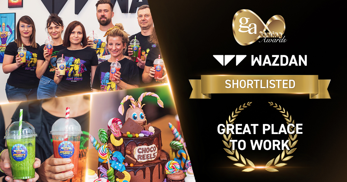 Wazdan nominated for Great Place to Work Award at International Gaming Awards