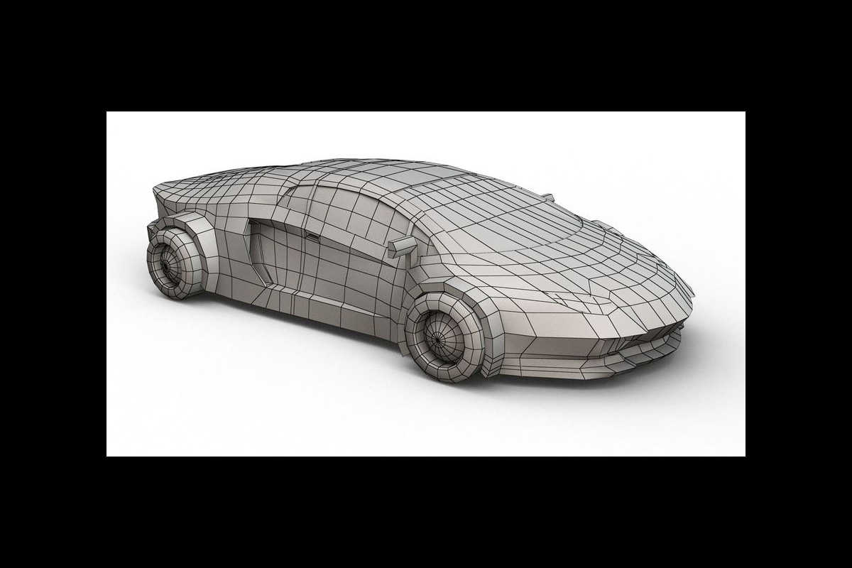 Technology, style, and speed: 3D designs showcase famous cartoon cars as high-tech supercars