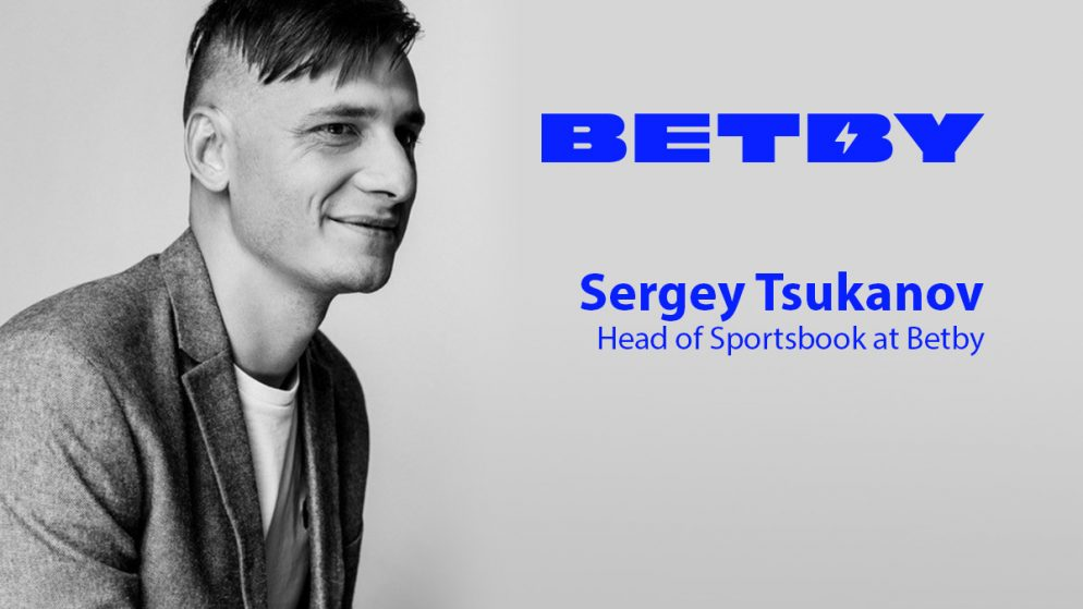 Exclusive Q&A with Sergey Tsukanov, Head of Sportsbook at Betby